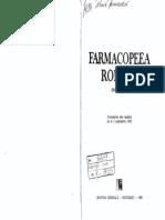 FR X (Farmacopeea Romana)