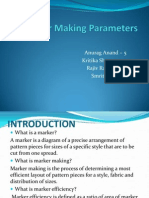 Marker Making Parameters