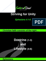 Striving Together in Unity