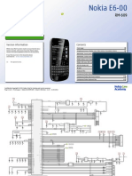 E6-00 RM-609 Service Schematics v1.0