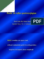 Boala de Reflux Gastroesofagian Prof. Dr. Stoica 2014