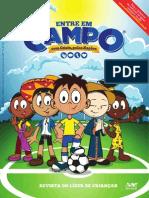 Entre Em Campo Com Cristo, Pelas Nações - Revista Infantil Campanha JMM 2014