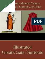 Male Dress - Great Coats, Surtouts & Cloaks