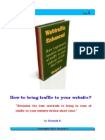 Web Traffic Enhanced