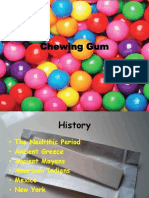 Chewing Gum Report