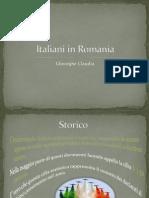 Italienii in Romania It