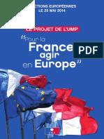 Pour la France, agir en Europe.