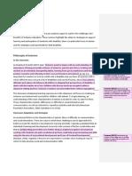 evidence document  inclusive education