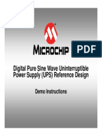 Digital Pure Sine Wave UPS Reference Design Demo Instructions_220V