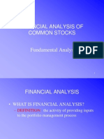 Security Market Analysis - Fundamental Analysis (2)