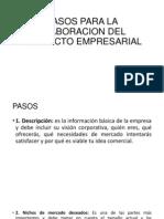 pasosparalaelaboraciondelproyectoempresarial-130627090233-phpapp01.pptx