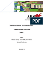 Abs Journal Ranking