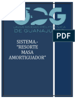 Sistema Resorte - Masa - Amortiguador