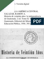 Salazar a. Ramon -Historia de Veintiun Años Tomo II