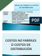 Costos No Fabriles Exp 3