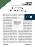 How to Attack Iraq 16-Nov-1998