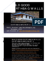 3 Build Good Earthbag Walls