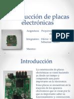 Construcción de Placas Electrónicas