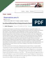 Las Críticas Del Mariscal Sucre Al Trabajo Del Maestro Simón Rodríguez - Por_ Julio Mosquera