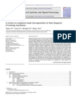 A Review on Empirical Mode Decomposition in Fault Diagnosis