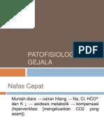 PATOFISIOLOGI GEJALA GASTROENTERITIS