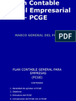 Plan Contable General Empresarial - PCGE Diapositivas