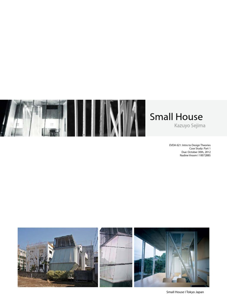 Picture of: Final Case Study Small House Nadine Vroom Shape Minimalism
