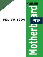 Manual Asus p5l Vm1394