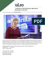 SUBIECTE EVALUARE NAŢIONALĂ 2014 Rezolvarea Subiectelor La Simularea de La Română. Elevii Spun Că a Fost Uşor - Adevarul