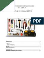 Manual Servicio