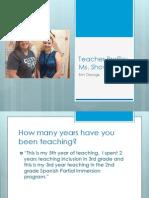 teacher profile revised