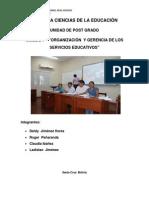 Trabajo de Gerencia Educativa Ult.