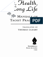Sex, Health and Long Life - Manuals of Taoist Practice - Tr. Thomas Cleary