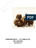 Referat -Mirodeniile- Un Miracol de Arome
