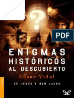 Enigmas hist�ricos al descubierto de C�sar Vidal r1.1