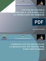 Taller Tecnica Legislativa