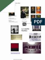 Guia Visual de Referencia Para La Lectura Los Origenes Del Arte Crítico