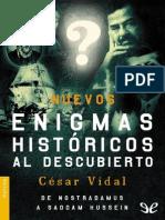 Nuevos enigmas hist�ricos al descubierto de C�sar Vidal r1.1