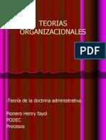 TEORIAS ORGANIZACIONALES.ppt