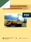 Guidance Notes in Health Hazard in Construction Work
