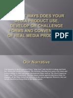 media studies evaluation question