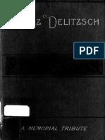 Franz Delitzsch Memorial Tribute