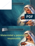 Maternidad y Paternidad Responsable, Metodos naturales de planificacion .pptx