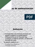 Procesos de Meteorizacion