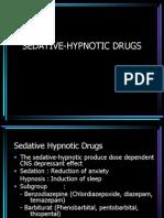 Sedative Hypnotic Drugs