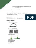 Informe Calculo Diferencia de Altura.