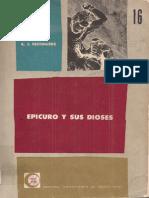 Festugiere, A - Epicuro y Sus Dioses