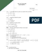 Test Expresii Algebrice 8