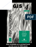 Innovation in GIS (Zarine Kemp (Ed.))