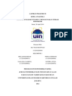 Laporan Praktikum Penentuan Kadar Vit c Dengan Titrasi Iodometri